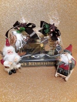 Pralinen Nähmaschine  Geburtstag Nikolaus