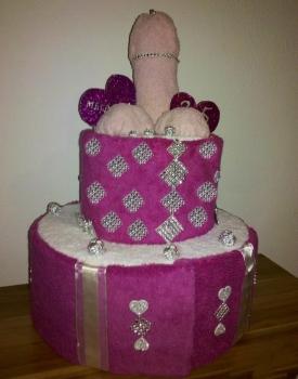 Erotik Party Gag Torte für Damen