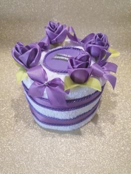 Gast-Geburtstagsgeschenk Handtuchtorte für Damen