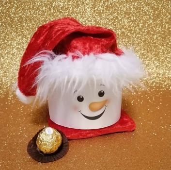 Nikolaus aus 1 Toilettenrolle  Mitabeiter-Gast Geschenke