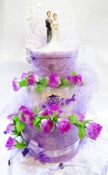 Hochzeit Handtuchtorte