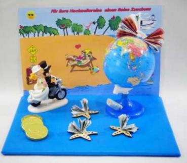 Geldgeschenk zur Hochzeit Reise Zuschuss