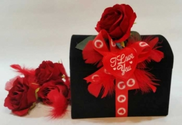 Pralinen Geschenk Truhe zum Geburtstag für Damen und Teenager